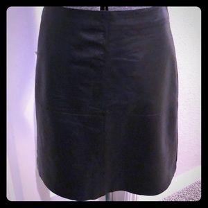 MaxMara Weekend Leather Skirt size 6